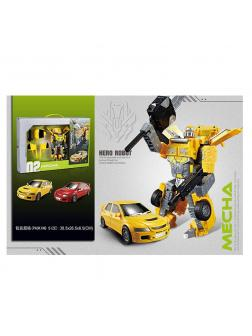 Трансформер «02 Morphing Robot» Mecha A5563-26 / Микс