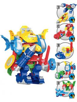 Робот-Трансформер «Combination Mecha» 6752