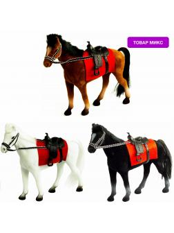 Детская кукольная игрушечная фигурка «Лошадка» Н37, для девочек, 21 см. / Микс