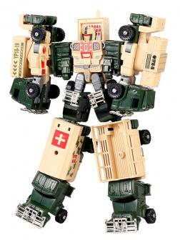 Робот-Трансформер «Army Mecha Troops» HD56