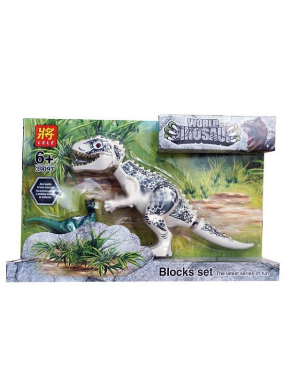 Набор 4 динозавра с фигурками Парк Юрского периода (Jurassic World 39097-1-2)
