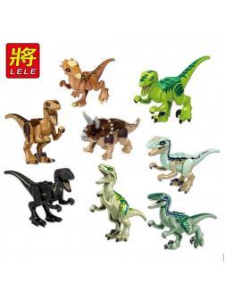 Конструктор Ll Dinosaur World Мир Юрского периода 39126 (Juniors Jurassic World) 8 шт