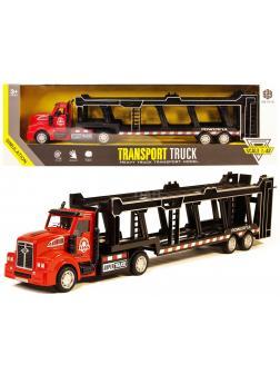 Металлическая машинка KIMI 1:48 «Трейлер Super Truck» АK621 33 см., фрикционный