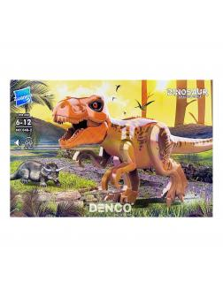 Набор 2 фигурки с коричневым динозавром со звуком Парк Юрского периода (Jurassic World 048-2)