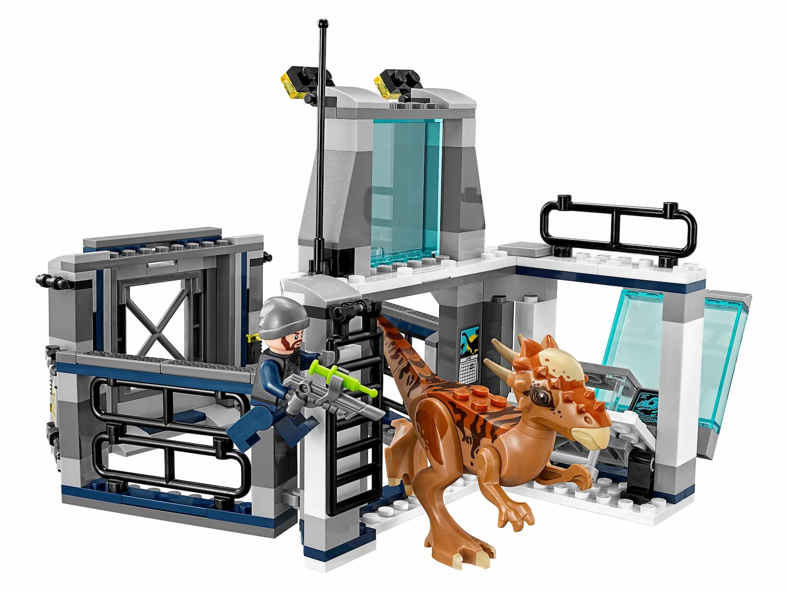 Конструктор Bl «Побег Стигимолоха из лаборатории» 10922 (Jurassic World 75927) / 234 детали