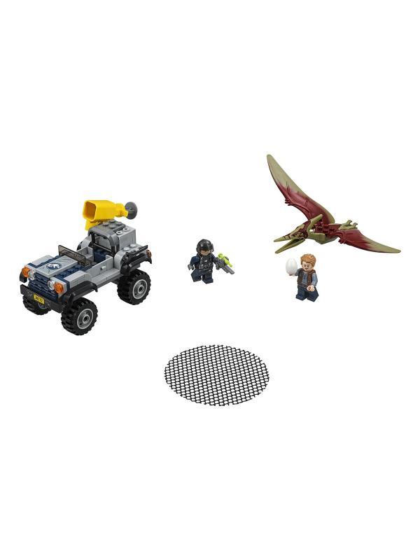 Конструктор Bl «Погоня за Птеранодоном» Парк Юрского периода 10921 (Jurassic World 75926), 138 деталей
