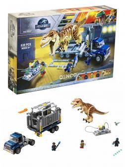 Конструктор Bl «Транспорт для перевозки Тираннозавра» 10927 (Jurassic World 75933) / 638 деталей