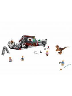 Конструктор «Охота на Рапторов в Парке Юрского Периода» 10924 (Jurassic World 75932) / 378 деталей