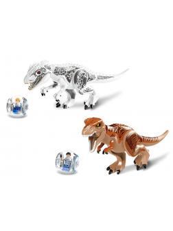 Набор 2 динозавра с фигурками Парк Юрского периода (Jurassic World 79151-1-2)
