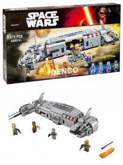 Конструктор Bl «Военный транспорт Сопротивления» 10577 (Star Wars 75140) / 670 деталей