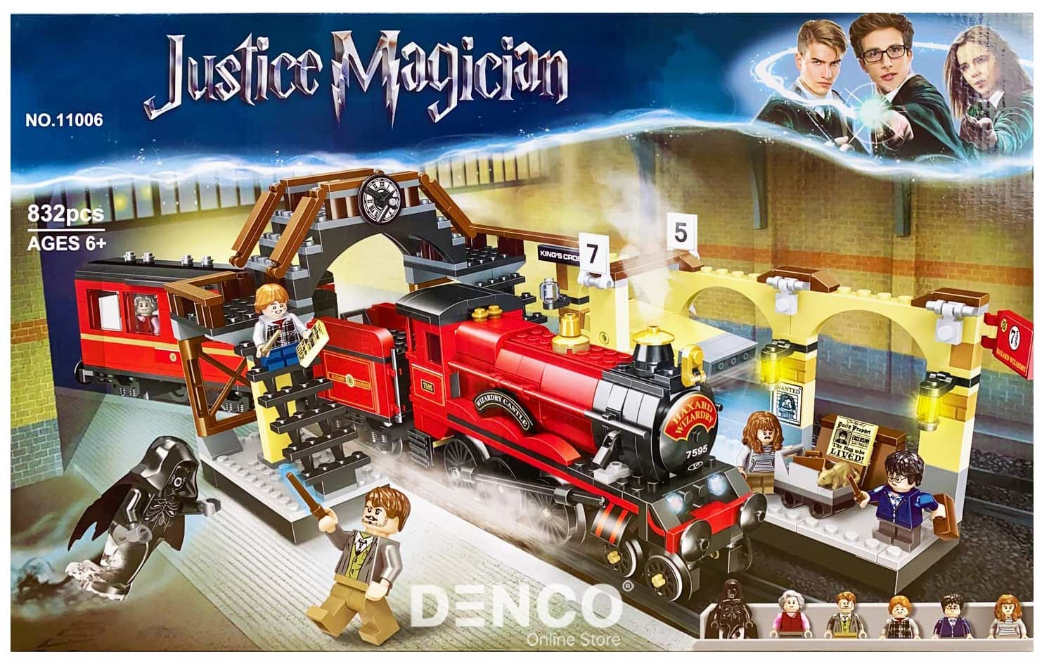 Конструктор «Хогвартс-экспресс» 11006 (Harry Potter 75955) / 832 детали