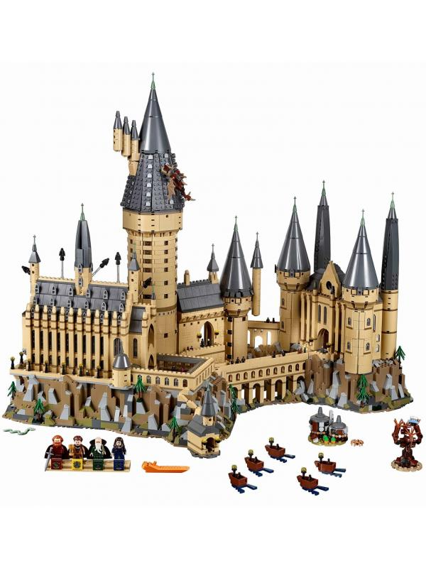 Конструктор Bl «Замок Хогвартс» 11025 (Harry Potter 71043) / 6044 деталей