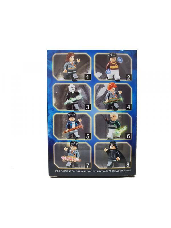 Набор 8 фигурок Гарри Поттер XY18001 комплект 8 шт.