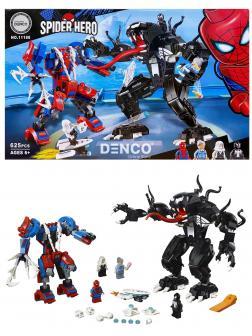Конструктор «Человек-паук против Венома» 11188 (Super Heroes 76115) / 625 деталей