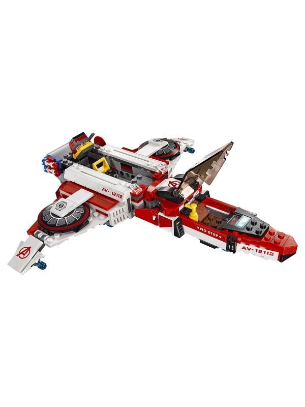 Конструктор Decool «Реактивный самолёт Мстителей: Космическая миссия» 7120 (Super Heroes 76049) / 523 детали