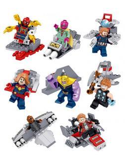 Набор 8 фигурок Супергерои (Мстители 34074)