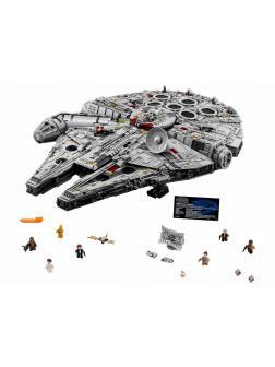 Конструктор Lp «Новый Сокол Тысячелетия - Гигантский корабль Хана Соло» 05132 (Star Wars 75192) / 8445 деталей