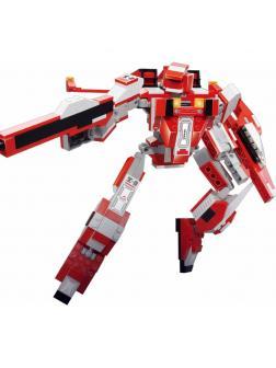 Конструктор Sluban «Робот-трансформер: Космический Фламинго» M38-B0257 / 331 деталь