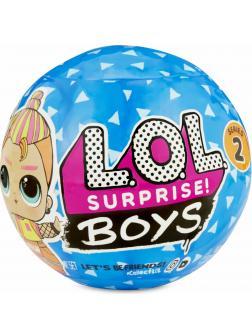 Кукла L.O.L. Surprise BOYS 2 series (Кукла ЛОЛ Мальчики 2 Серия) в шаре 561699