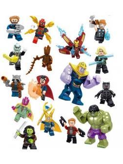 Набор 16 фигурок Супергерои (Мстители 34044)