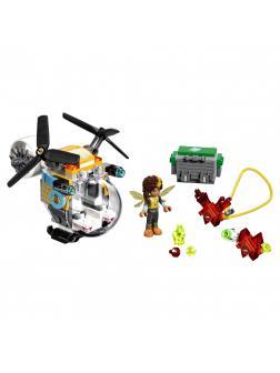 Конструктор Bl «Вертолёт Бамблби» 10614 (Super Hero Girls 41234), 144 детали