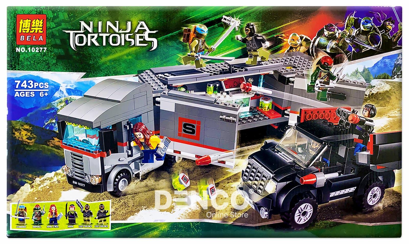 Конструктор Bl «Большая снежная машина для побега» 10277 (Ninja Turties 79116) 743 детали