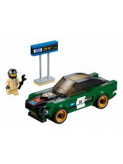 Конструктор Bl «1968 Форд Мустанг Фастбэк» 10944 (Speed Champions 75884) 189 деталей