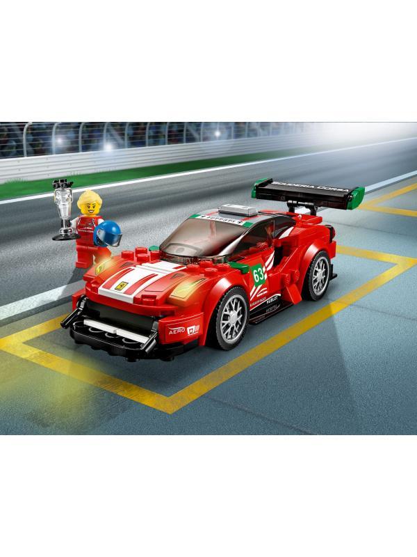 Конструктор Bl «Феррари 488 GT3 Scuderia Corsa» 10943 (Speed Champions 75886) / 185 деталей