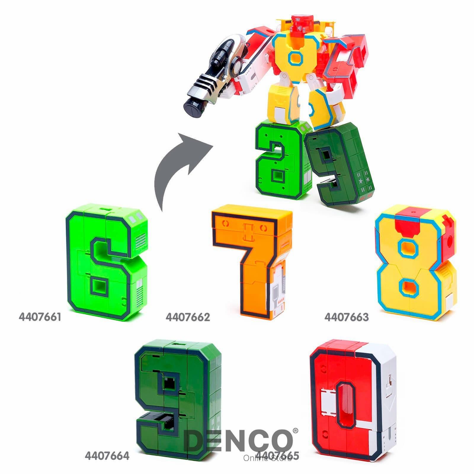 Цифра-Трансформер XL «Октонатор» Цифра 8, Коллекция тысячи знаний