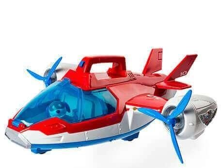 Набор Щенячий патруль Самолет спасателей 39 см. и 8 воздушных спасателей LQ2019+CH-G001T