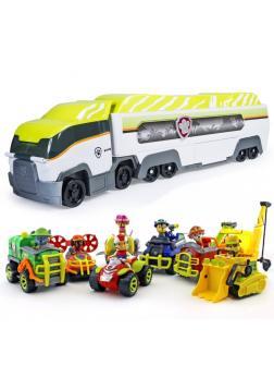Набор «Автовоз» Щенячий патруль (Paw Patrol) Джунгли + 7 машинок с фигурками PK7777+LQ2040