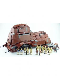 Конструктор Lp Звездные войны «Многоцелевой Транспорт Торговой Федерации» 05069 (Star Wars 7662) 1338 деталей