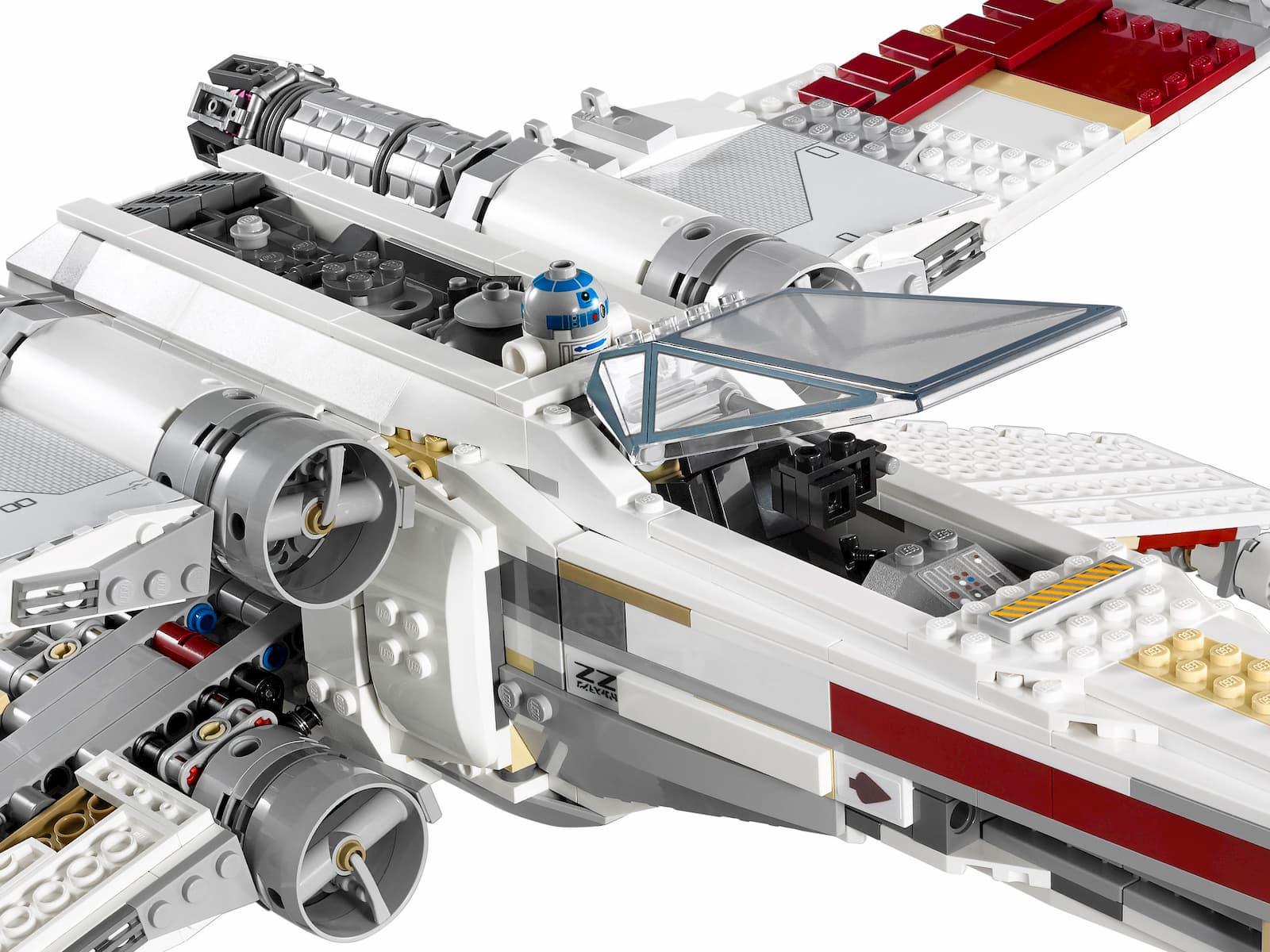 Конструктор Lp Звездные войны «Истребитель X-WING RED-FIVE» 05039 (Star Wars 10240) 1586 деталей