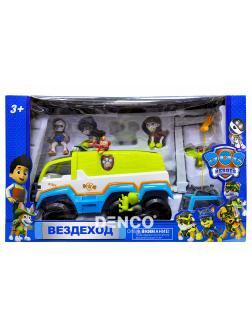 Набор «Вездеход спасателей» Щенячий патруль с фигурками / Джунгли LQ2021