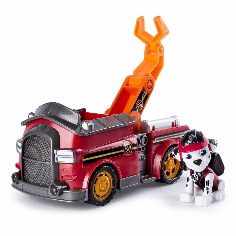Игрушка Щенячий патруль «Машинка спасателя и щенок Маршал» 16601-Marshall