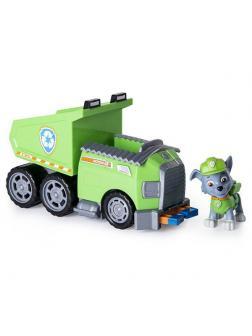 Игрушка Щенячий патруль «Машинка спасателя и щенок Рокки» 16601-Rocky