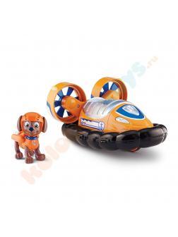 Игрушка Щенячий патруль «Машина спасателя, корабль на воздушной подушке и щенок Зума» 16601-Zuma