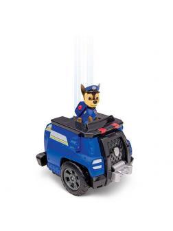 Игрушка Щенячий патруль «Машина-трансформер со звуком и светом спасателя Чейз Делюкс» 16704-Chase