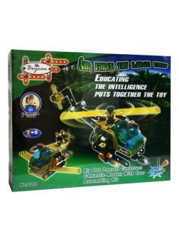 Конструктор Boyuan «Вертолет» c отверткой и гаечным ключом 7418 / 109 деталей