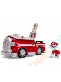 Игрушка Щенячий патруль «Машина-трансформер спасателя Маршал Делюкс со звуком и светом» 16704-Marshall