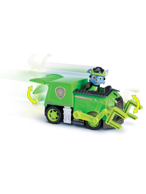 Игрушка Щенячий патруль «Машина спасателя с щенком Рокки» 16702-Roc