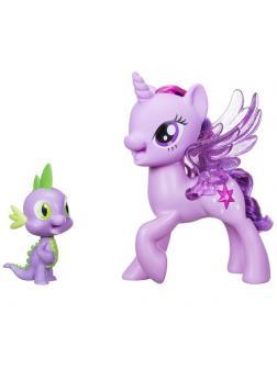 Игрушка Hasbro My Little Pony Сияние «Поющие Твайлайт и Спайк» C0718