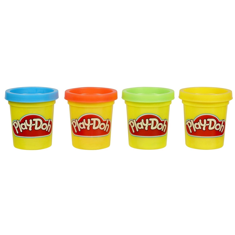 Игровой набор Play-Doh 4 мини баночки 23241121