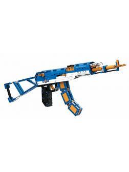 Конструктор Cada «Автомат АК-47» 498 деталей / C81001W (стреляет)