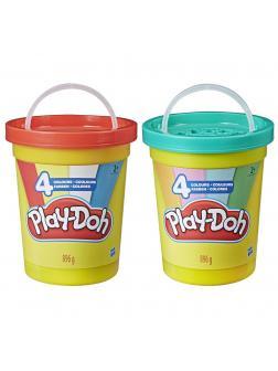 Игровой набор Play-Doh Большая банка 4 цвета E5045EU4