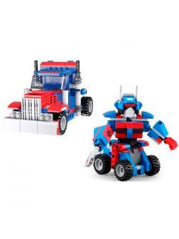 Конструктор Cada «Робот-трансформер» инерционный 251 деталь / C52019W