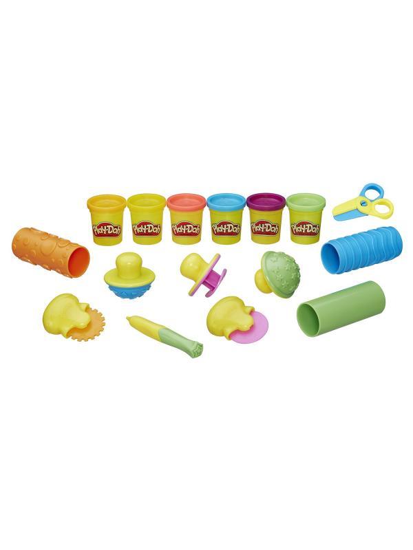 Игровой набор Play-Doh «Текстуры и инструменты» B3408121-no