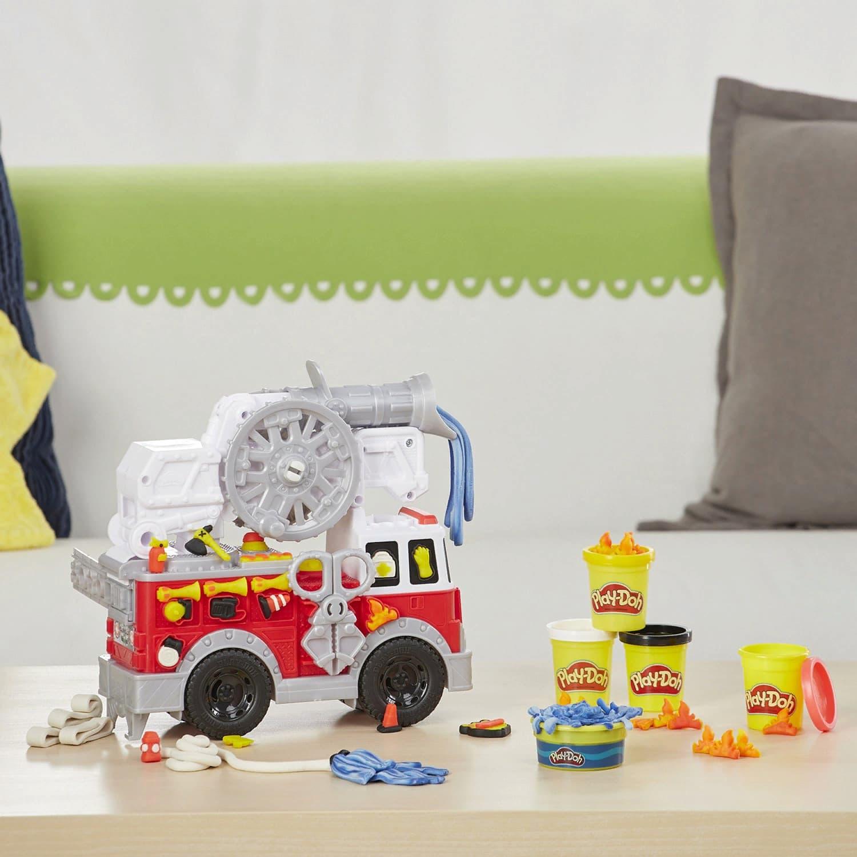 Игровой набор Play-Doh «Пожарная Машина» E6103EU4