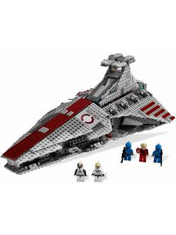 Конструктор KING «Атакующий крейсер республиканцев класса Венатор» 81044 (Star Wars 8039) 1218 деталей