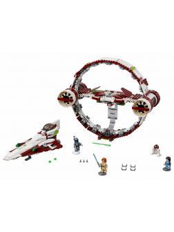 Конструктор Lp «Звёздный истребитель джедаев с гипердвигателем» 05121 (Star Wars 75191) / 860 деталей
